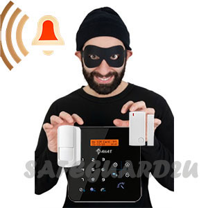 Details about Wireless Security GSM WiFi Autodial Smart Home Burglar Alarm  HD IP Camera System