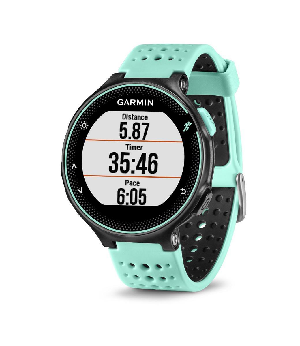 Watch with wrist hrm - Garmin Forerunner 235 Gps Watch Black Blue Smartwatch Hrm Heart Rate Monitor Ebay
