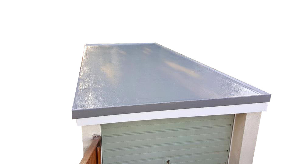 single garage grp roofing kit inc tools trims included. Black Bedroom Furniture Sets. Home Design Ideas