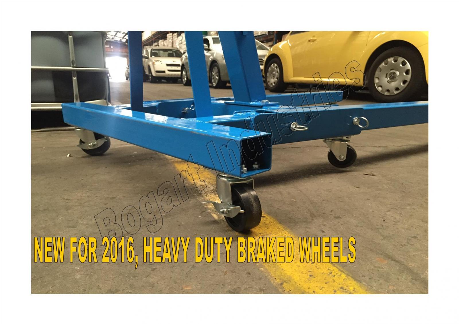 +Engine Hoist Lifter, Folding Shop Crane, 2Ton Quality, BONUS 1.8T LOAD LEVELLER | eBay