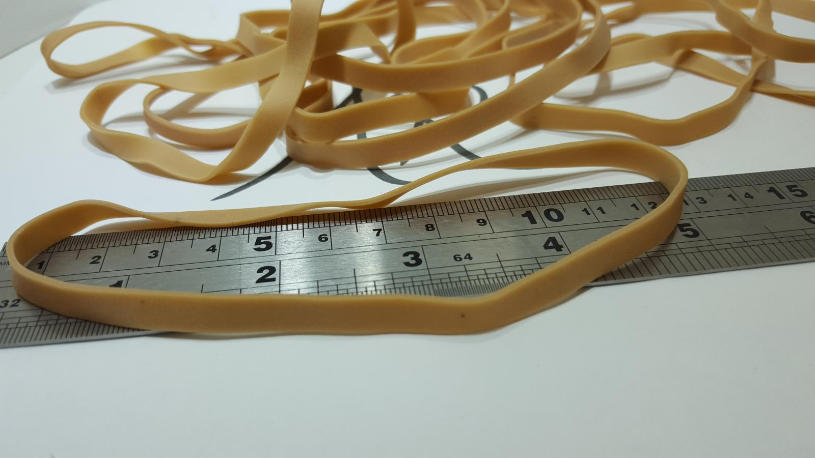 740g Pack of Elastic RUBBER BANDS - Range of sizes available