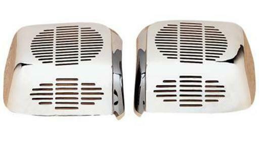 Show Chrome 2-487 Rear Speaker Chrome Grilles