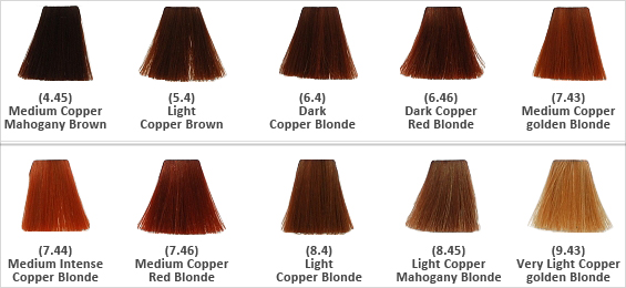 Keune Tinta Hair Color Dye Copper Amp Mahogany Amp Gold