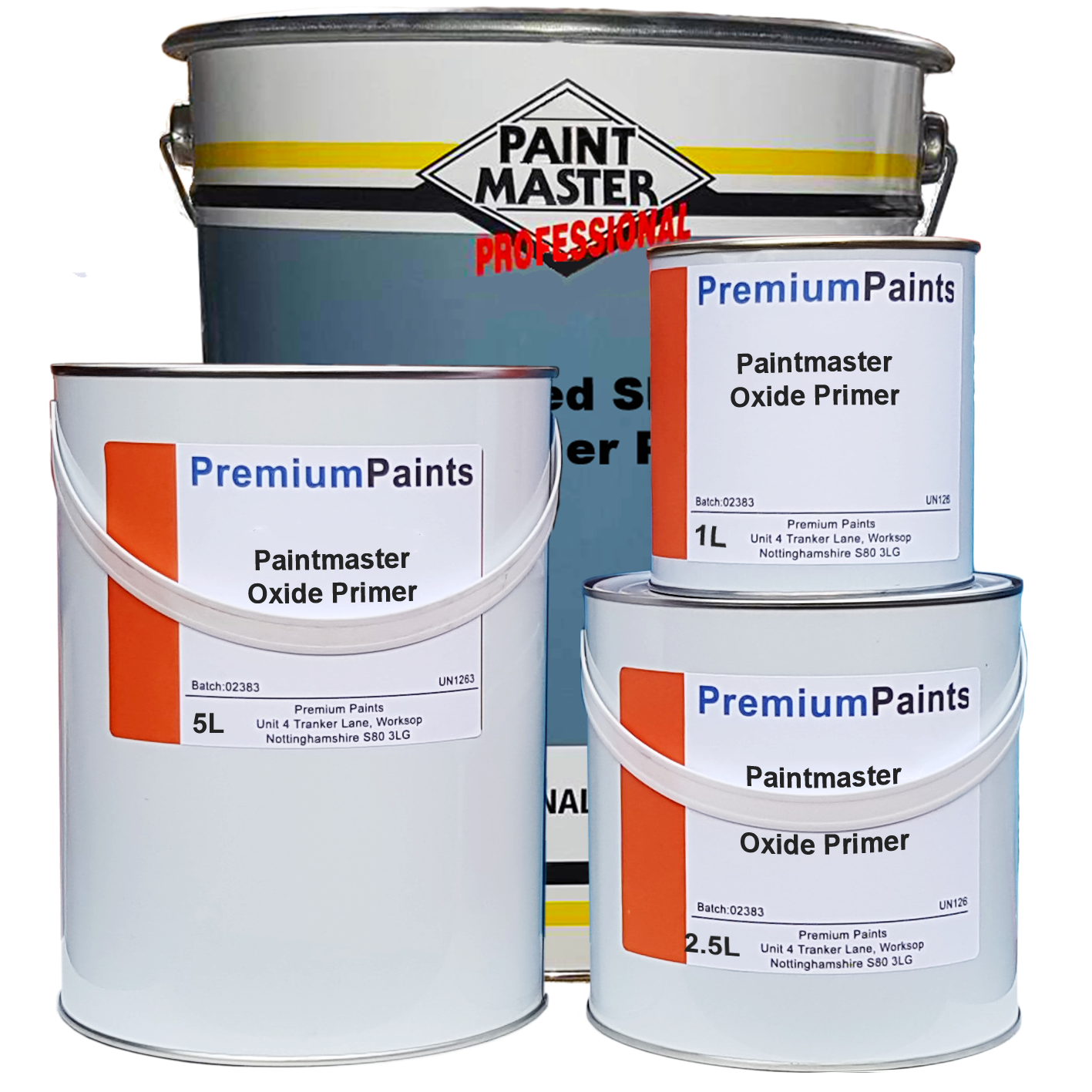 Heavy Duty Primer : Paintmaster barn and shed paint oxide gloss ltr