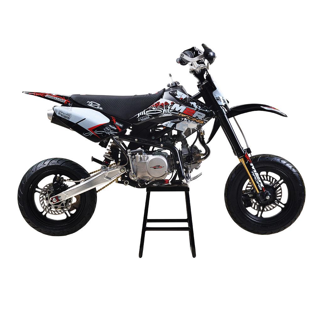 m2r racing km140sm 140cc 82cm supermoto pit bike off road. Black Bedroom Furniture Sets. Home Design Ideas