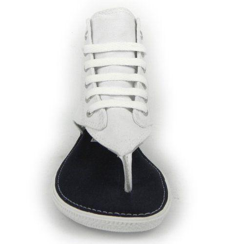 6e371952faf7e1 New Converse All Star Hi Top White Thong Sandals Flip Flops Women Girl CT  522256