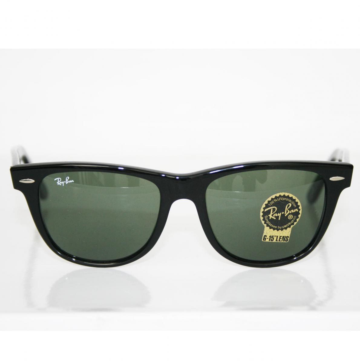 black lens ray bans  sunglasses black