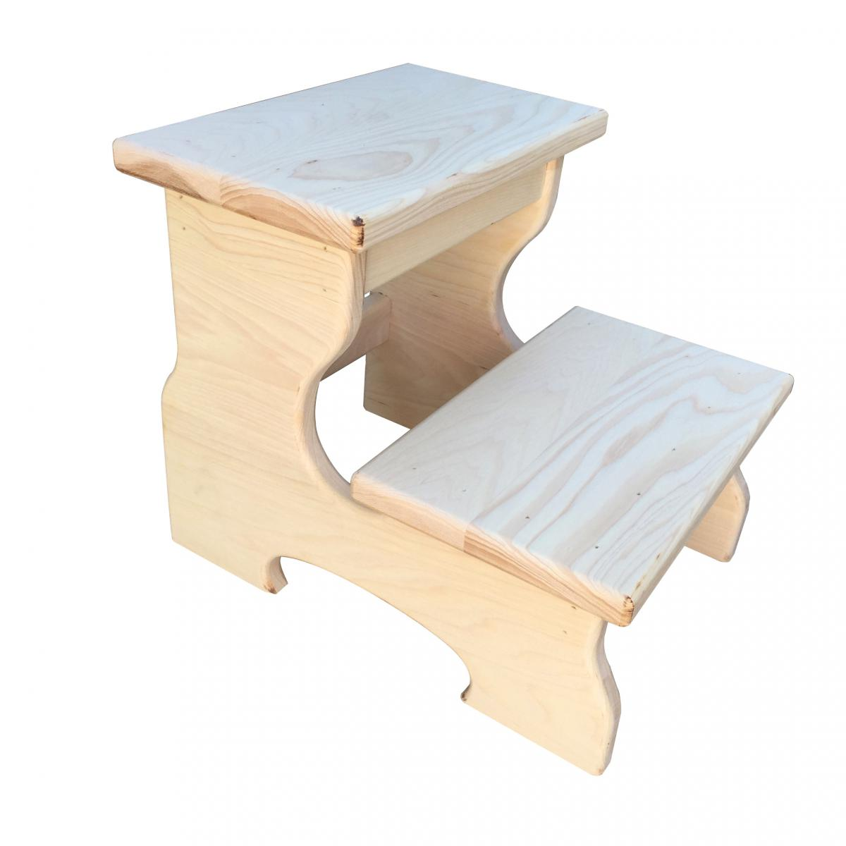 Wood Step Stool For Adults Home Improvement And Interior