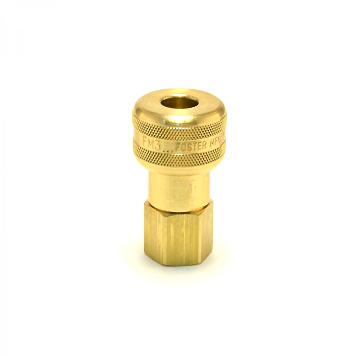 Female npt industrial quick coupler connect air