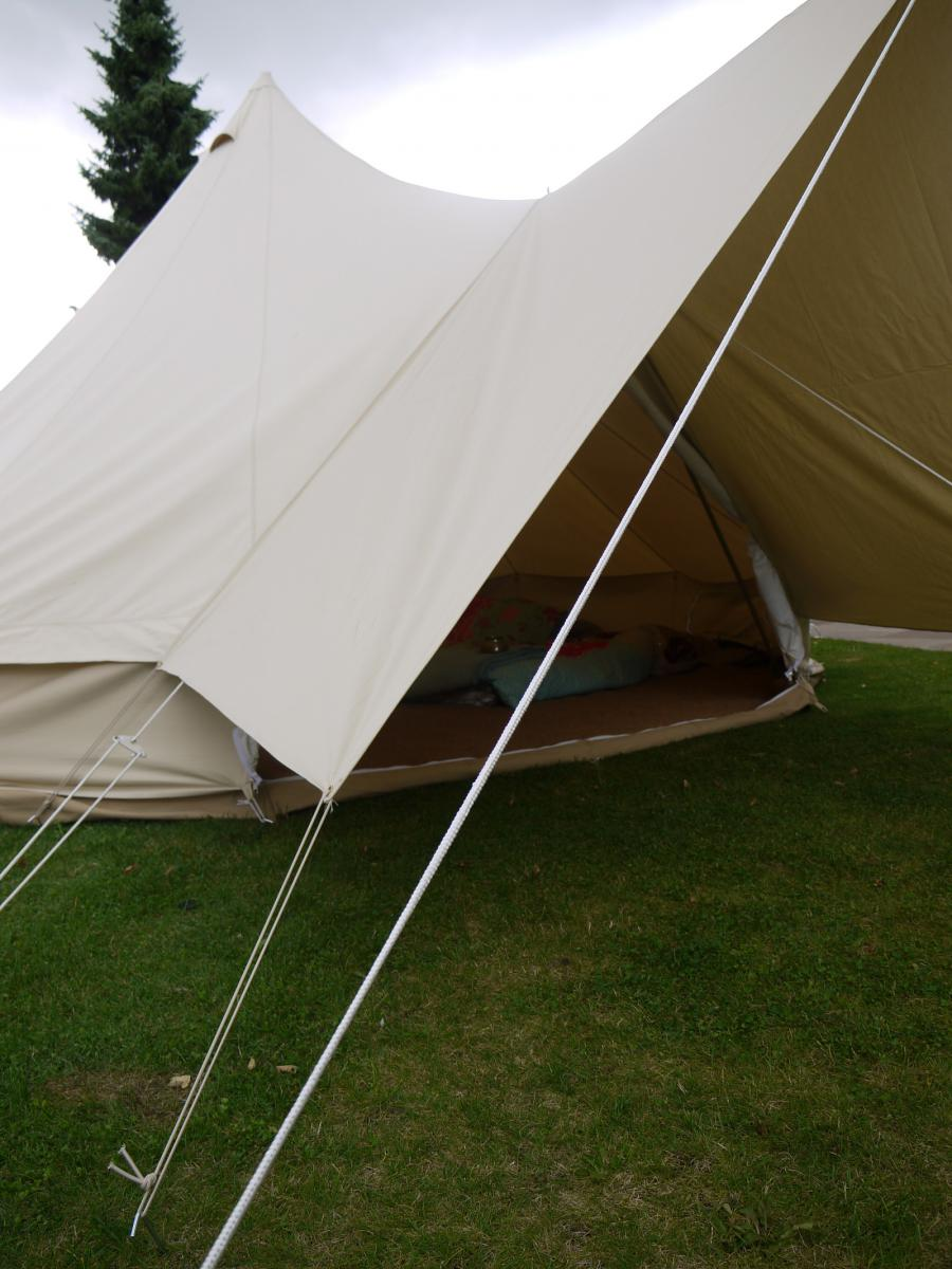 Canvas Awning by Bell Tent Boutique | eBay & bell tent - Ecosia