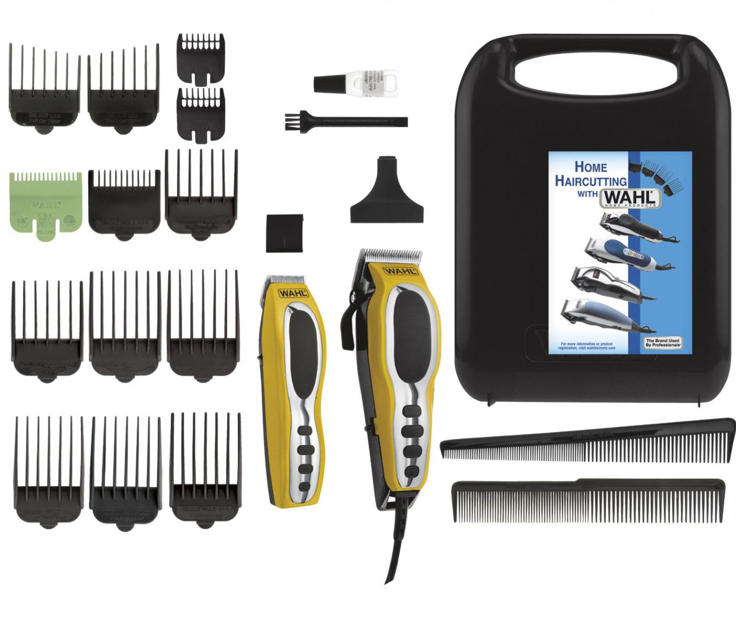 Barber Kit : ... Wahl Professional Hair Clipper Kit 22 Piece Barber Pro Hair CuttingSet