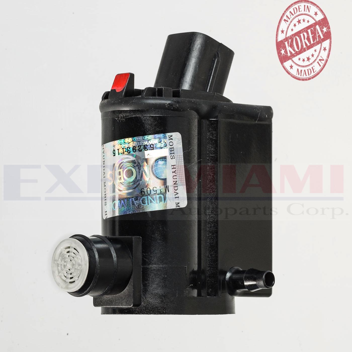 Genuine Fits 06 11 Hyundai Accent Windshield Washer Pump