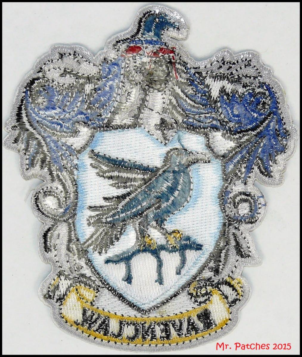 Ravenclaw harry potter hogwarts patch high quality iron - Gryffindor crest high resolution ...