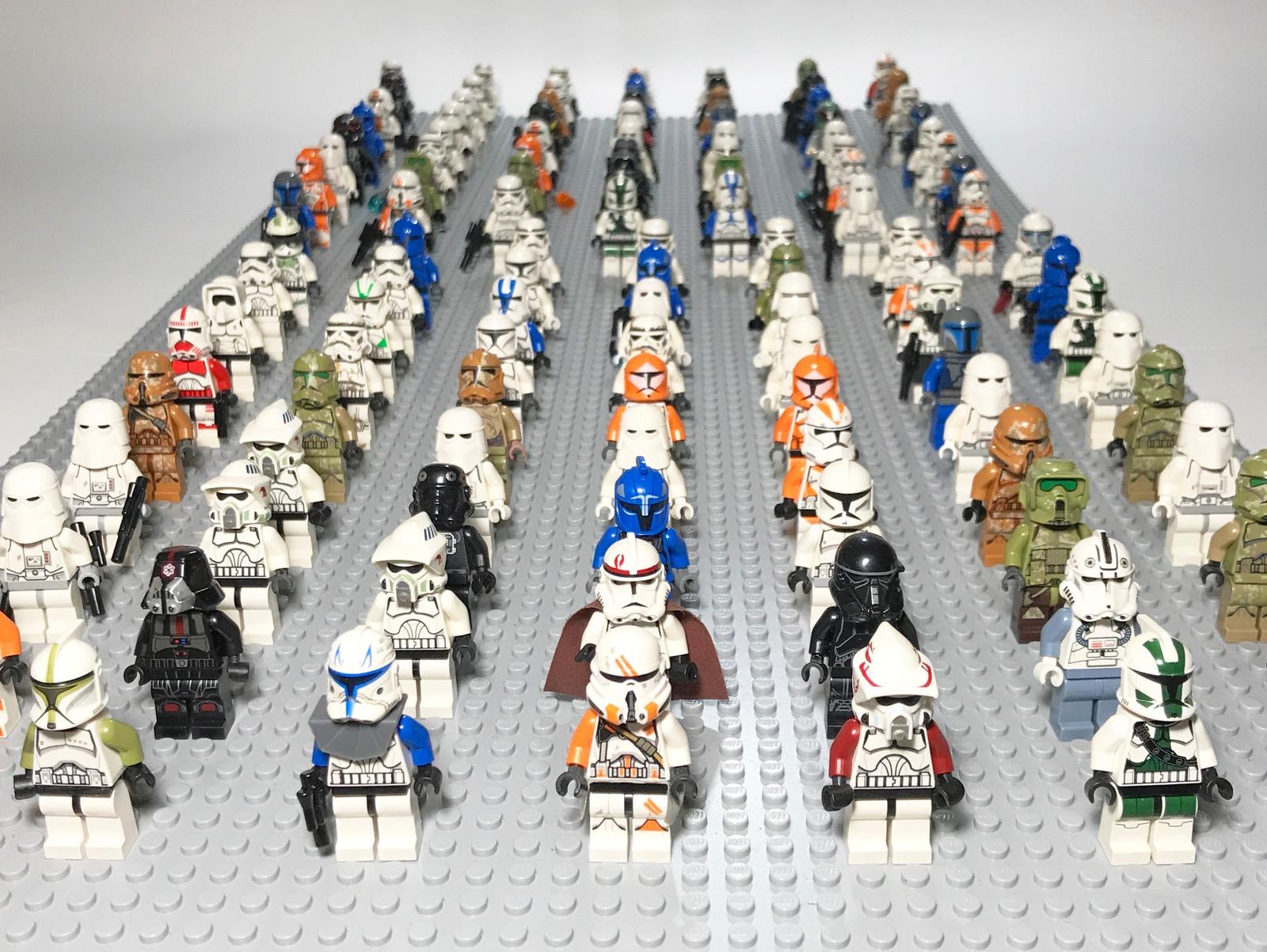 LEGO STAR WARS Minifigures 4 Figures ONLY PER LOT All Random READ DESCRIPTION