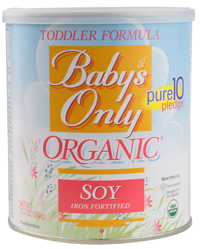 12 Pack Baby S Only Organic Soy Baby Toddler Formula Non