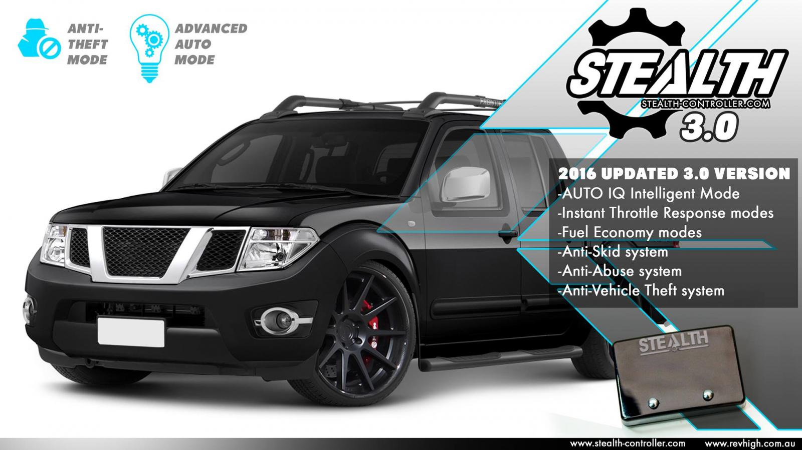 nissan navara d22 d40 performance stealth throttle. Black Bedroom Furniture Sets. Home Design Ideas