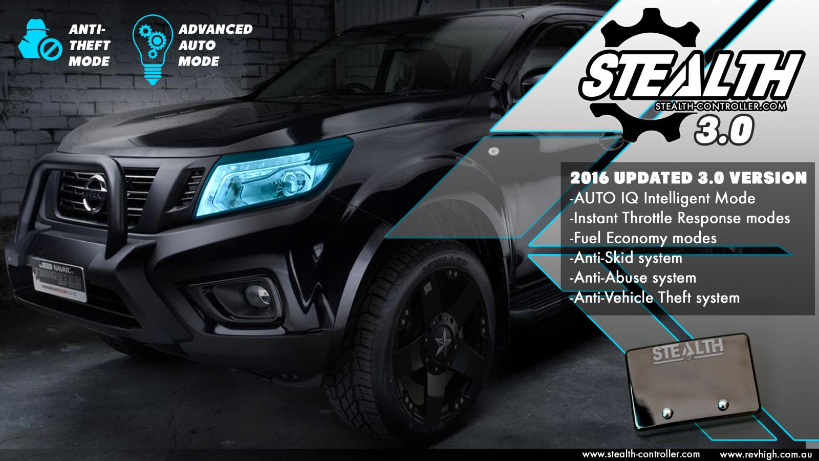 nissan navara d40 stealth 3 0 controller tune turbo chip. Black Bedroom Furniture Sets. Home Design Ideas