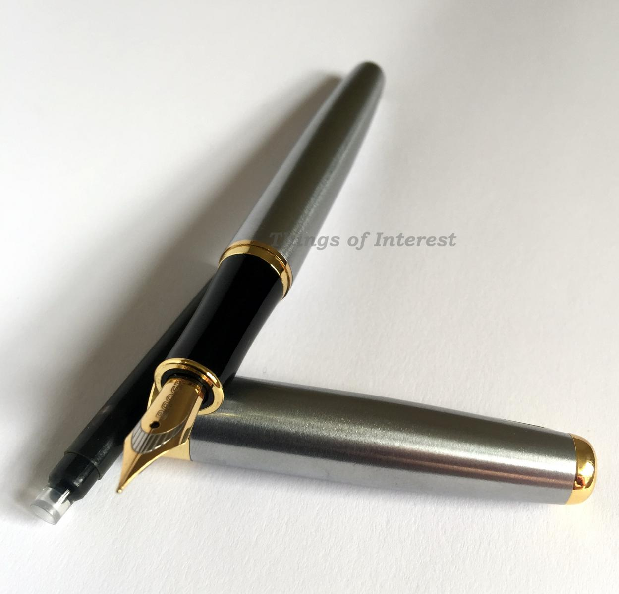 Fountain Pen Calligraphy Pen Baoer 388 Free Ink