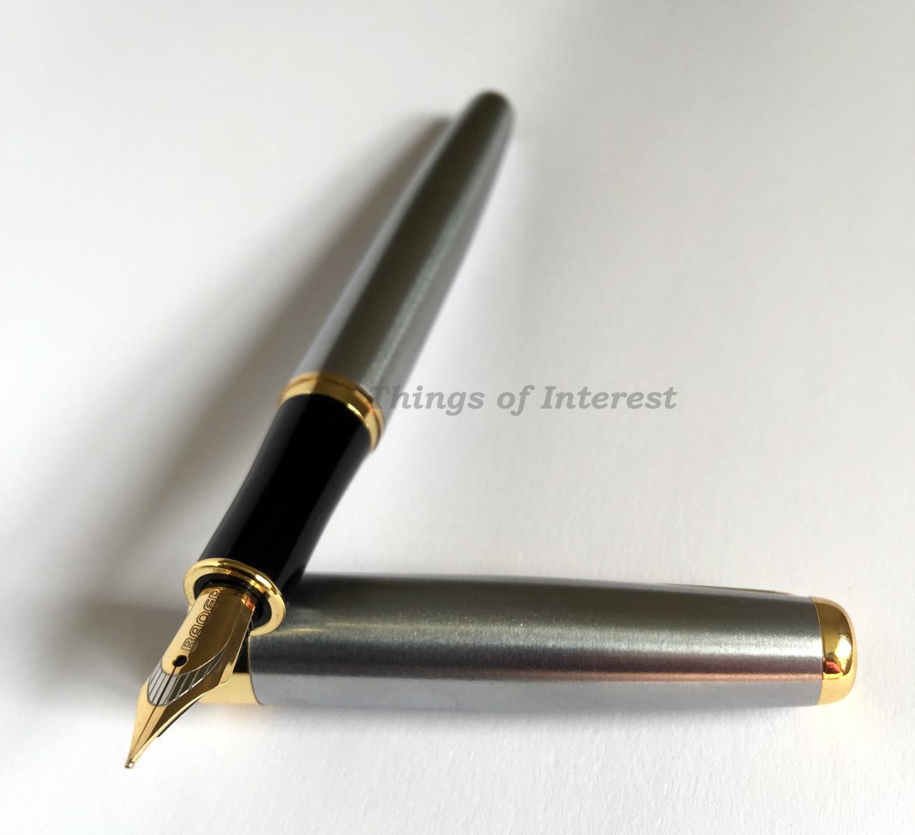 Fountain Pen Calligraphy Pen Baoer 388 Free Ink