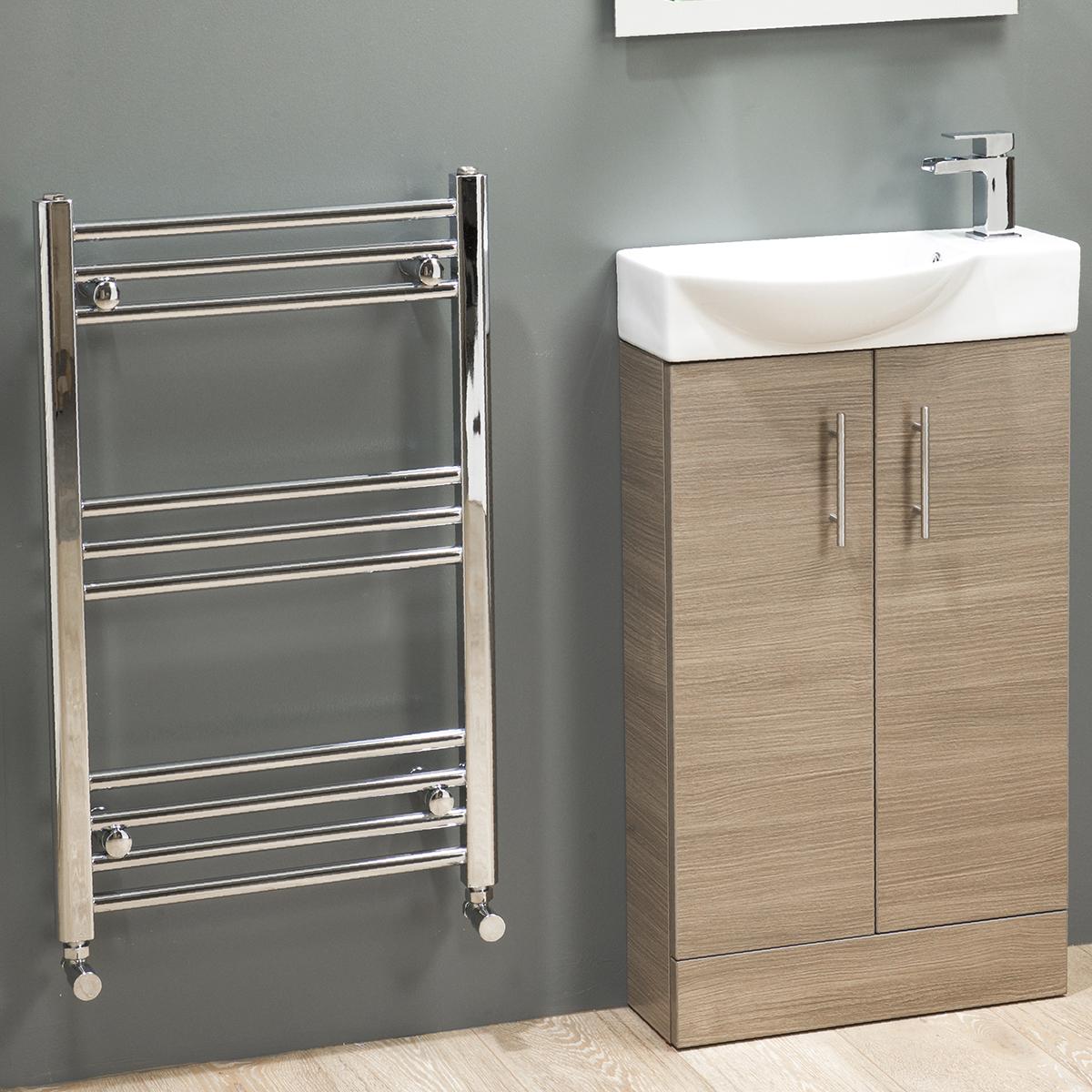 500 slimline vanity basin sink unit cloakroom bathroom. Black Bedroom Furniture Sets. Home Design Ideas