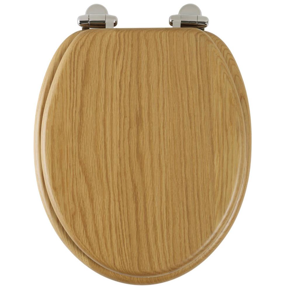 Wood Toilet Lid : Roper rhodes greenwich limed oak real wood toilet seat