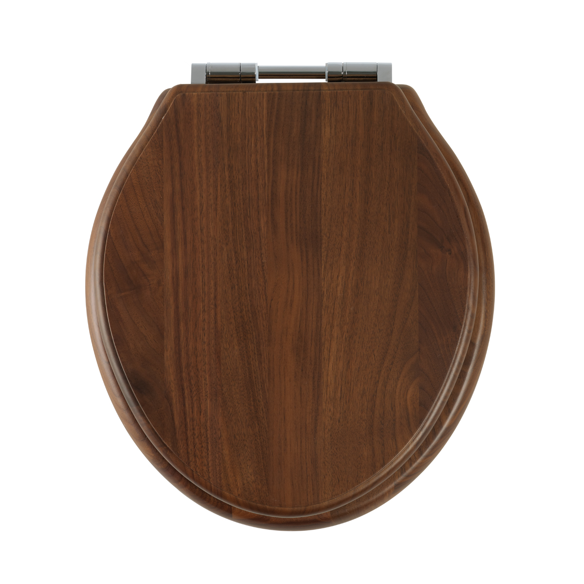 Roper Rhodes Greenwich Walnut Real Wood Toilet Seat Soft Close Hinge Bathroom