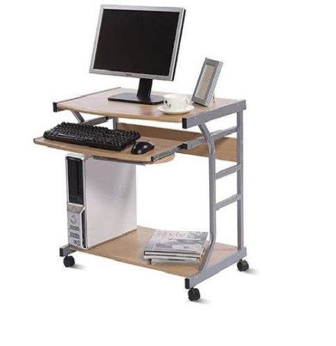 Desk computer table compact home office furniture for Crazy computer desk