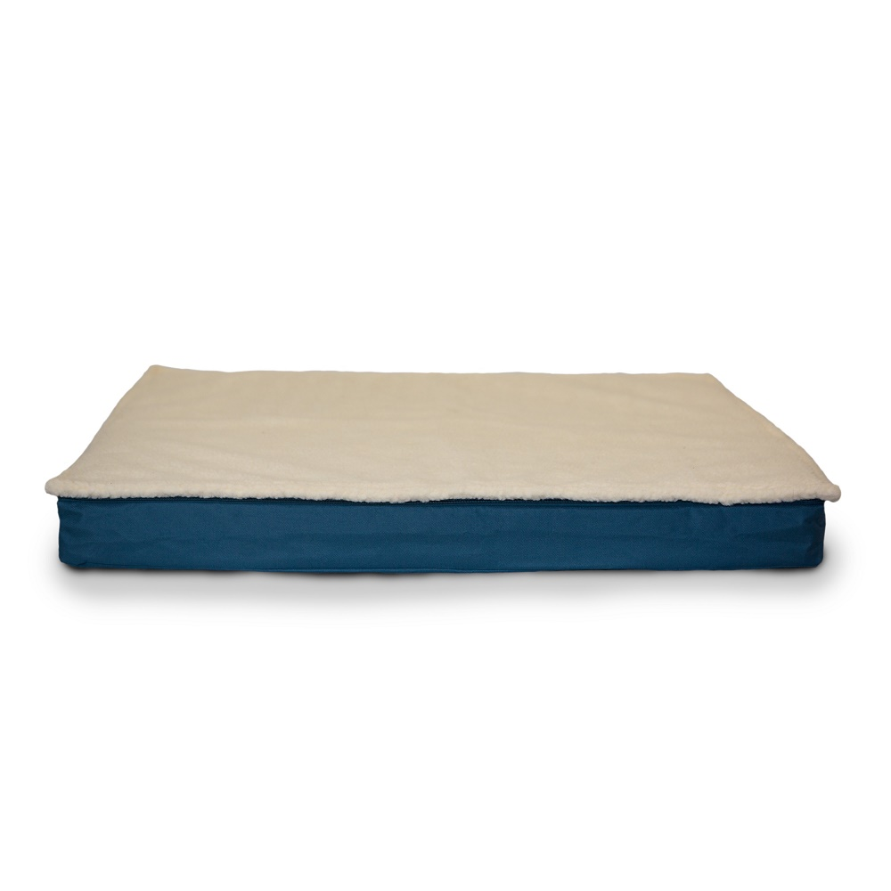 large orthopedic foam dog bed sleeping mattress removable cover cozy new. Black Bedroom Furniture Sets. Home Design Ideas