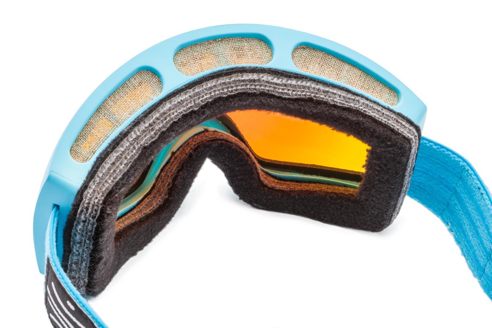 ski goggles junior  ski snowboard blue