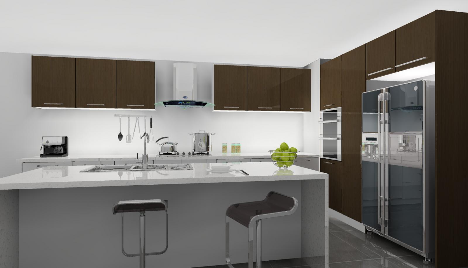 Kitchen l Australian Made l Semi Gloss White l Kitchen Cabinets  From