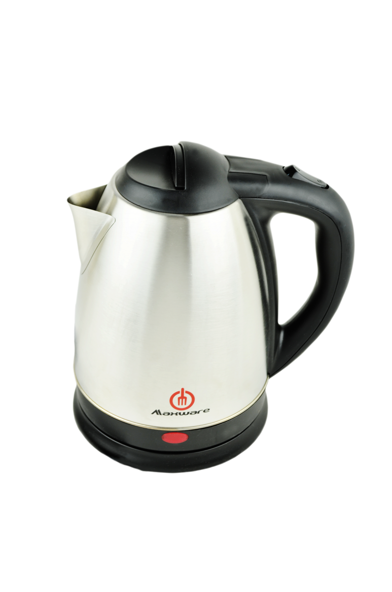 Best Cordless Electric Kettle ~ Maxware liter brushed stainless steel cordless