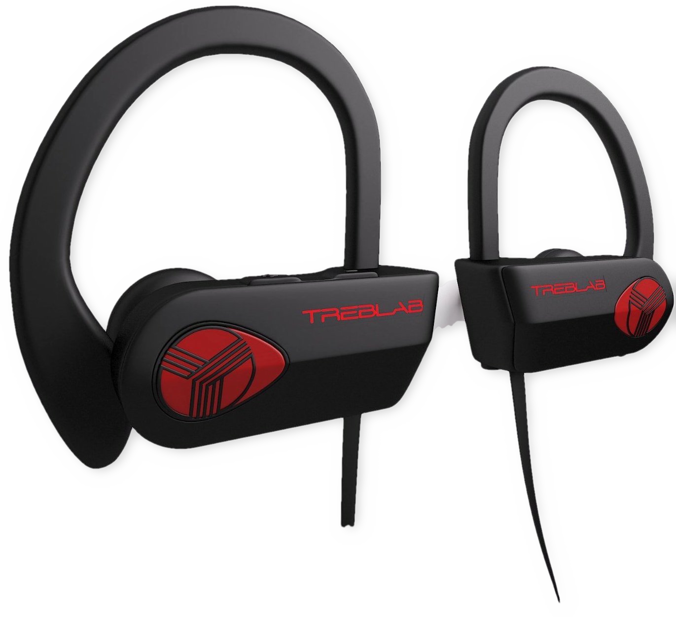 treblab xr500 bluetooth earbuds true hd sound 9 hour battery microphone martlocal. Black Bedroom Furniture Sets. Home Design Ideas