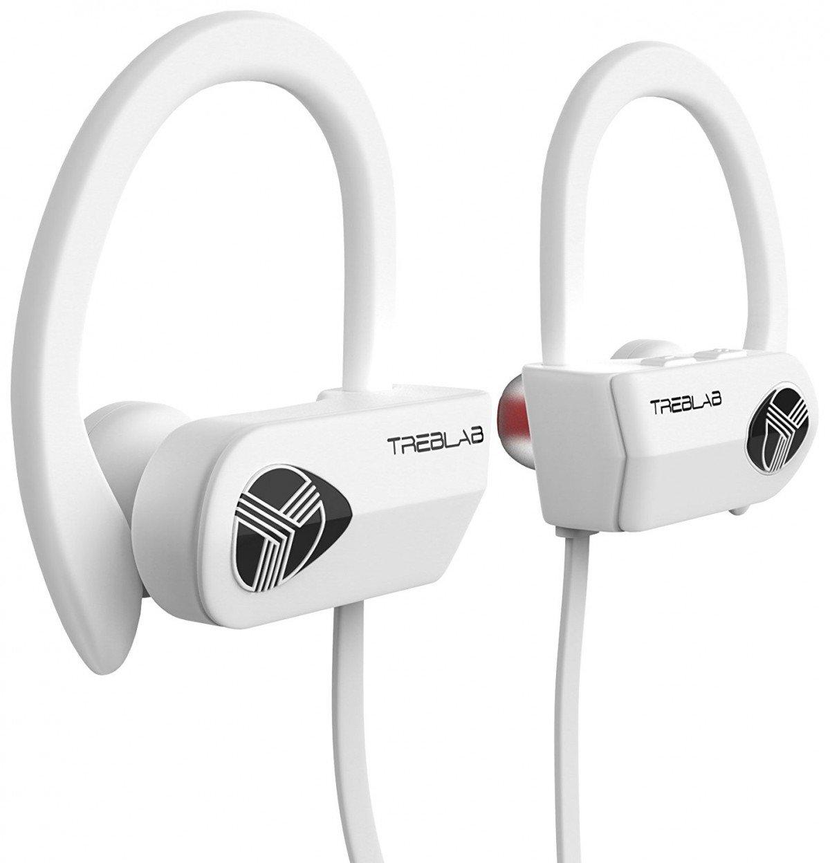 treblab xr500 bluetooth earbuds true hd sound 9 hour battery microphone ebay. Black Bedroom Furniture Sets. Home Design Ideas