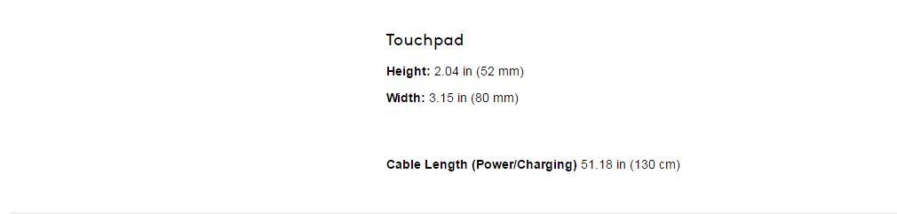 Logitech K830 Illuminated Living Room Wireless Touchpad