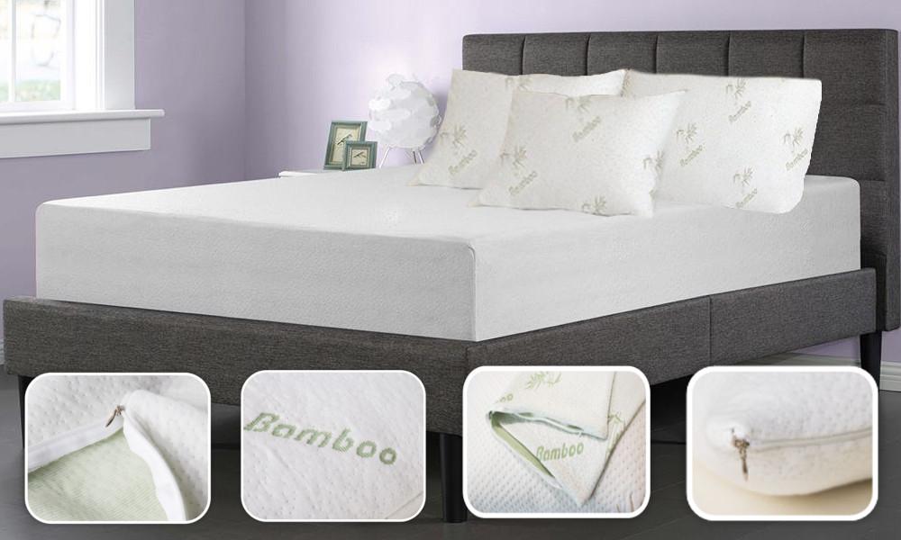 2x Bamboo Pillow Cover Cases 51cm X 36cm Ebay
