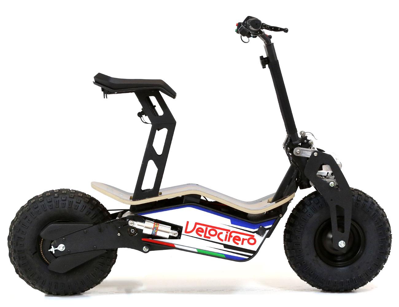 velocifero mad 48 volt 1600w electric scooter nypd. Black Bedroom Furniture Sets. Home Design Ideas