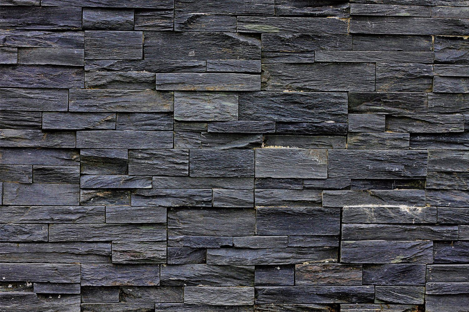 Stonewall photo wallpaper black asian stonewall natural dark stones mural ebay - Steinwand anthrazit ...
