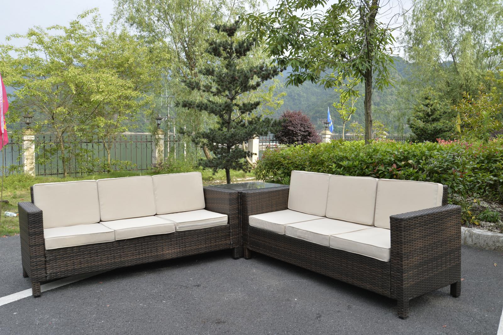 rattan garden furniture set sofa conservatory outdoor. Black Bedroom Furniture Sets. Home Design Ideas