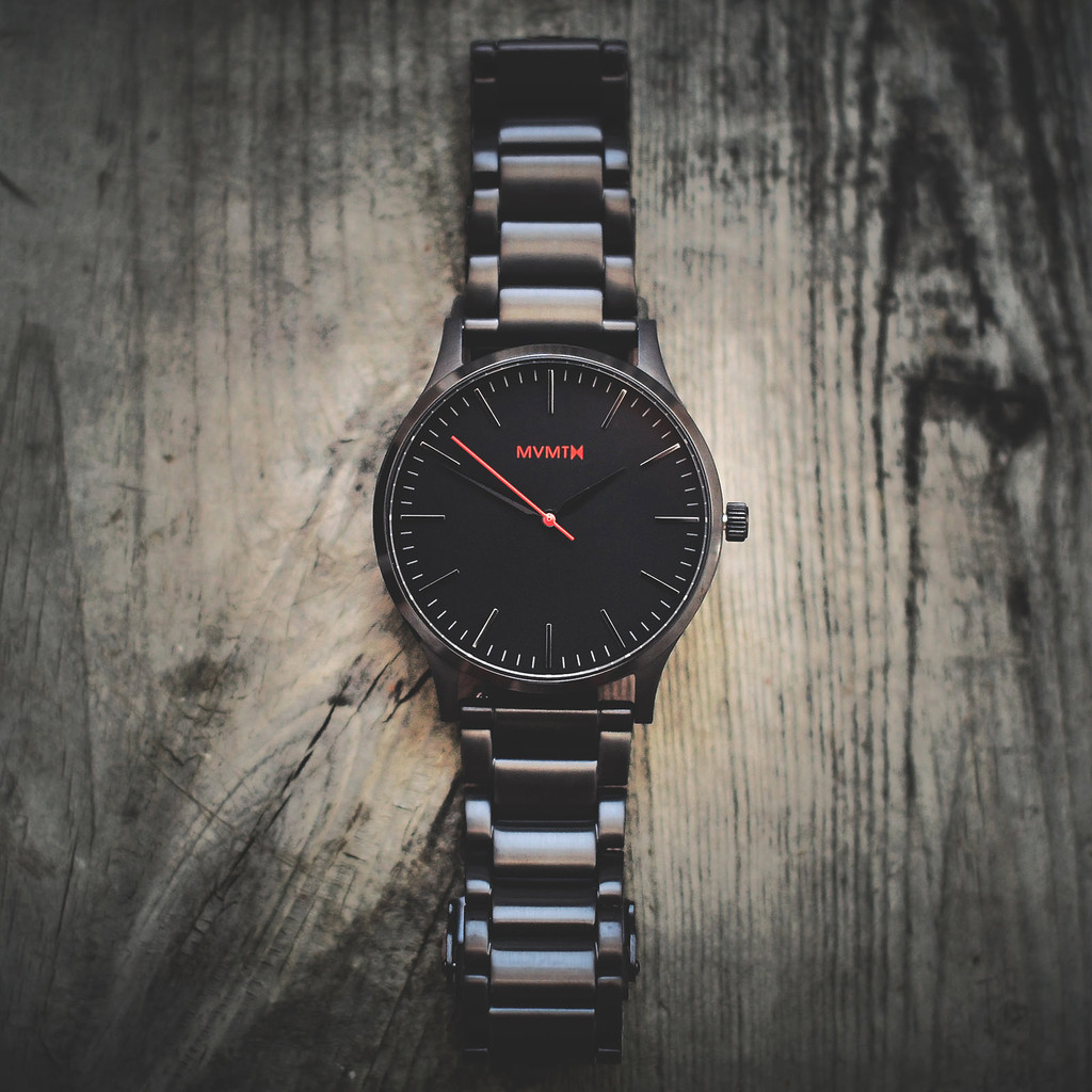 Mvmt watches 40 series black stainless steel strap men 39 s watch man sale ebay for Mvmt watches
