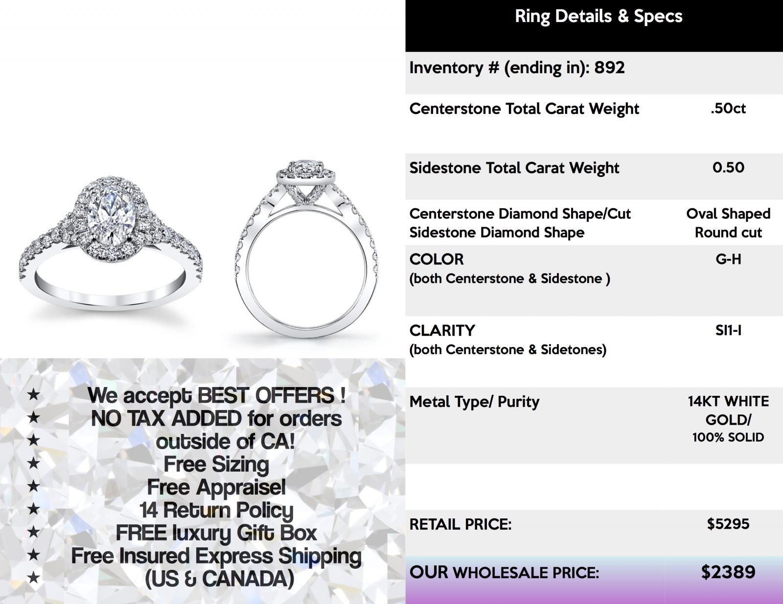 New 100 karat diamond ring jewellrys website oval diamond engagement ring pave halo cathedral set diamond nvjuhfo Gallery