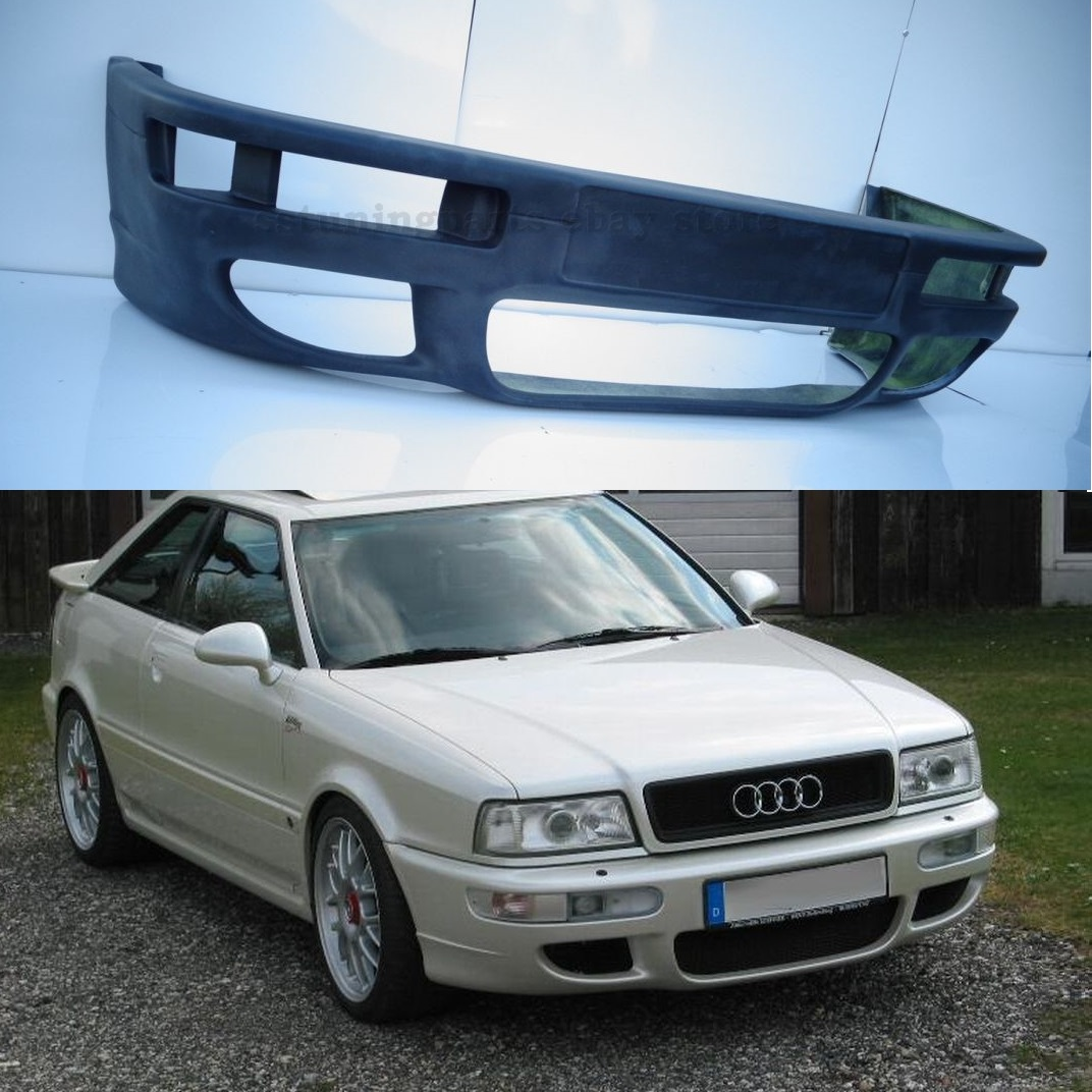 audi 80 b4 coupe front rs2 style bumper spoiler. Black Bedroom Furniture Sets. Home Design Ideas