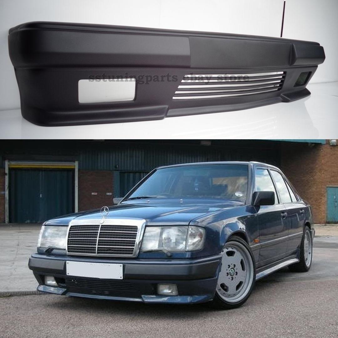 mercedes benz w124 front amg style gen 2 bumper spoiler. Black Bedroom Furniture Sets. Home Design Ideas