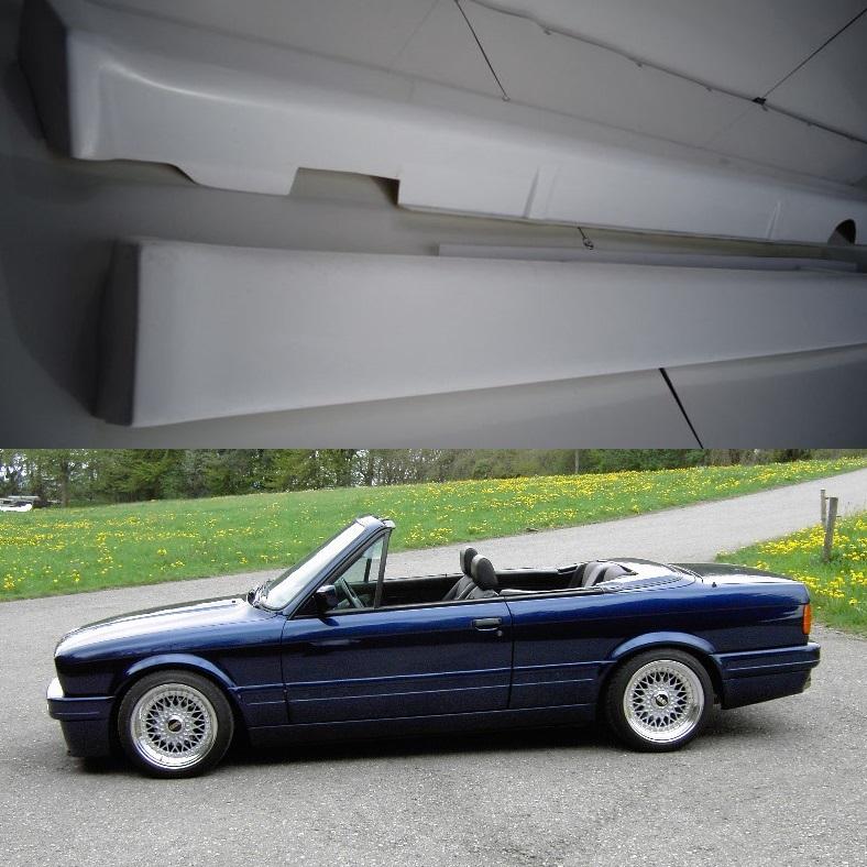 bmw e30 Cabrio Convertible mtech mtechnik 2 style side