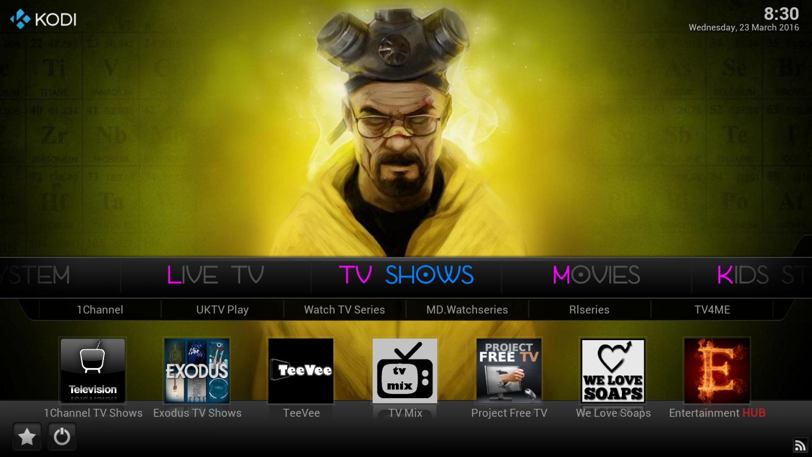 how to watch new movies on kodi