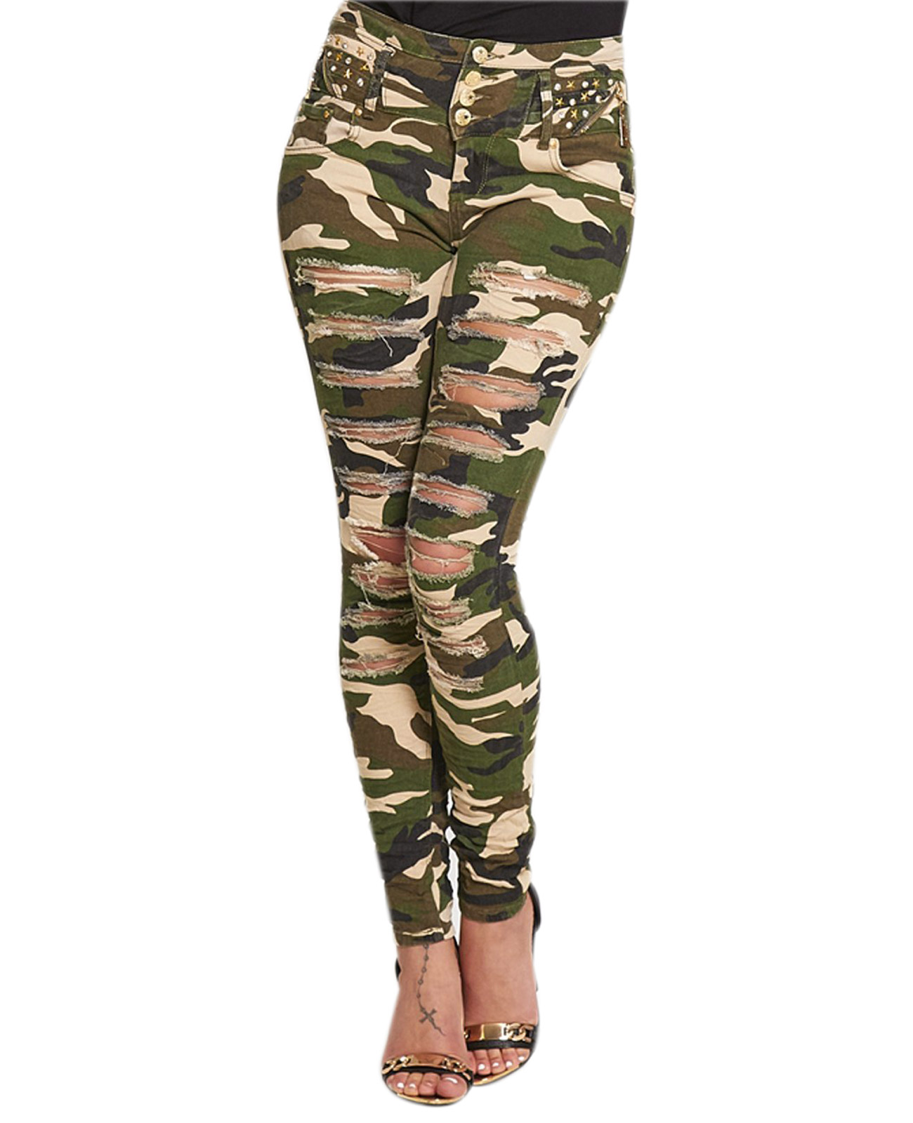 Shop for and buy womens camo jeans online at Macy's. Find womens camo jeans at Macy's. Macy's Presents: The Edit- A curated mix of fashion and inspiration Check It Out. Free Shipping with $49 purchase + Free Store Pickup. Contiguous US. camo skinny jeans womens; Apply. Filter By clear all. Free Pick Up In Store.