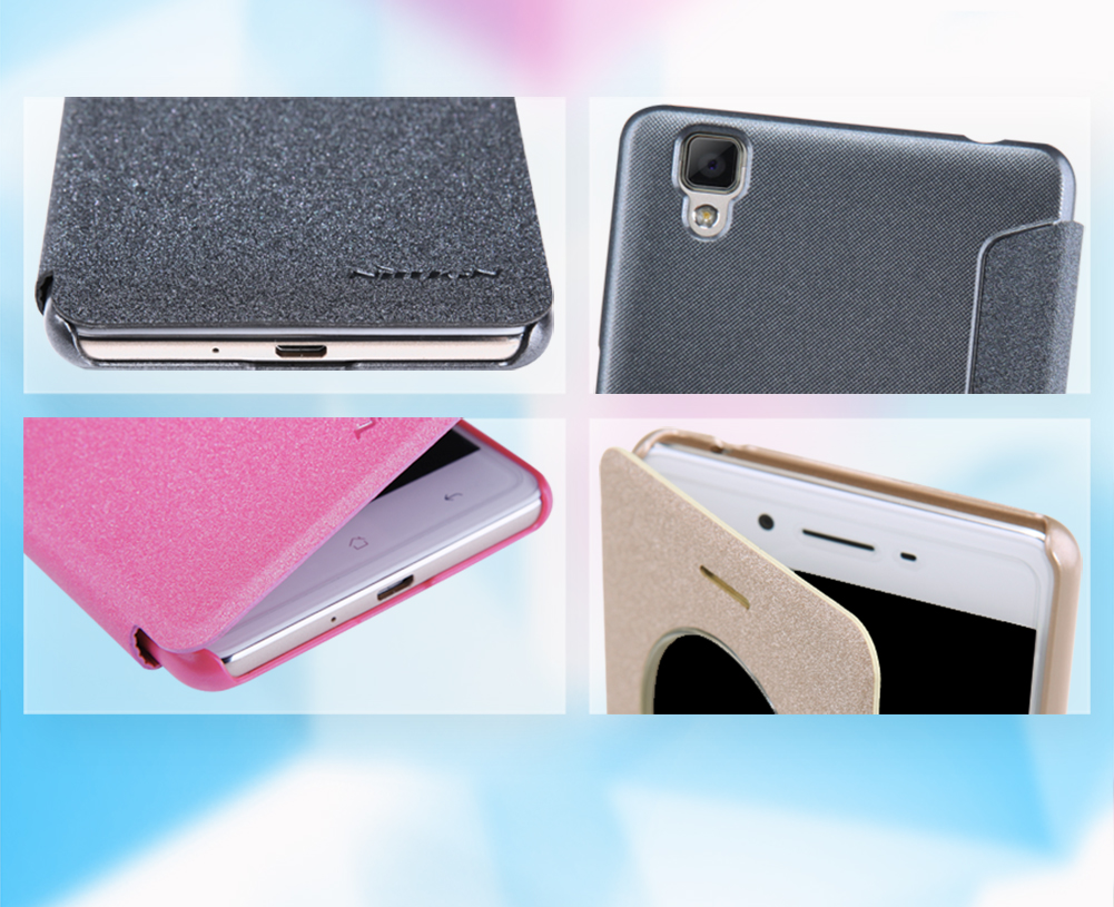 Oppo F1 Nillkin Sparkle Leather Case Cover For Optus Oppo F1 Ebay