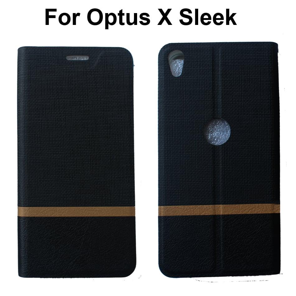 sale retailer fa00e e01e0 Details about For Optus X Sleek Case Card Holder Full Body Protection Cover  For Optus X Sleek