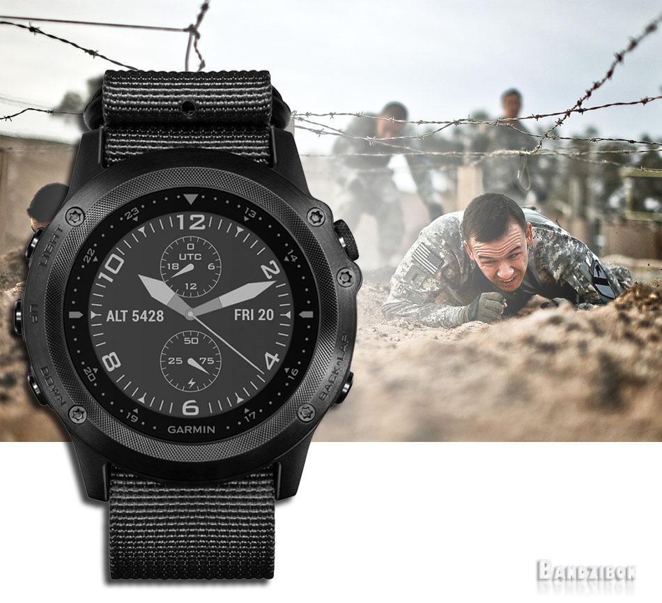 Garmin Tactix Bravo Tactical GPS Men Military Army Wrist ...