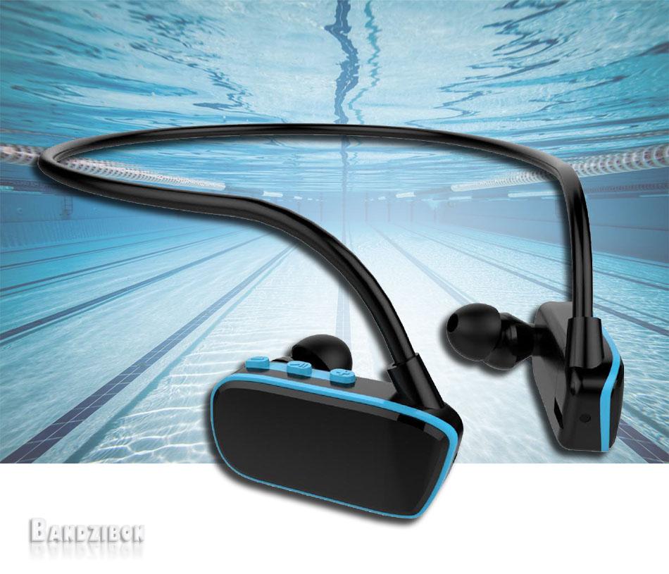 4gb Waterproof Swim Mp3 Player Stereo Music Under Water Sport Pool Swimming Ipx8 Ebay