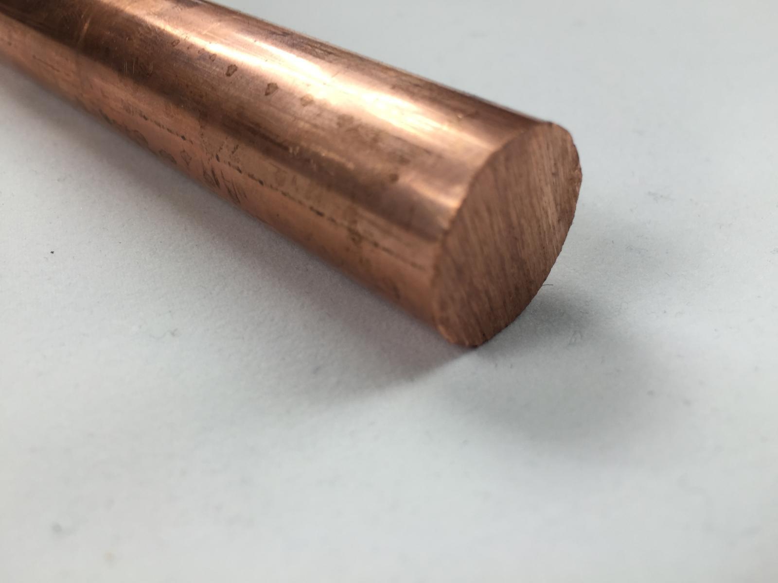Copper round bar rod spot welding various sizes ebay